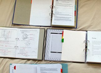Organize Your High School Notes