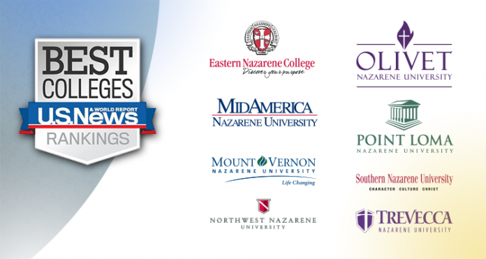 America's Best Colleges and College's Logos