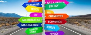 College Majors - Focus of Study for Students