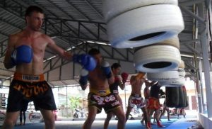 Implementing the martial arts schools with Muay Thai camp for loss weight in Thailand