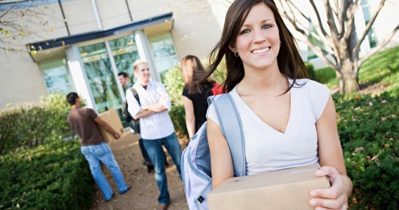student moving out