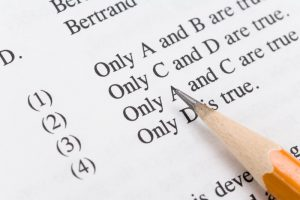 Differences Between College and High School Tests