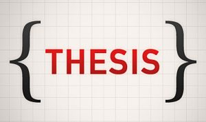 Write an Instant Thesis for SAT